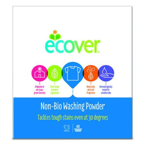 Ecover Concentrated NonBio Washng Powder 3kg