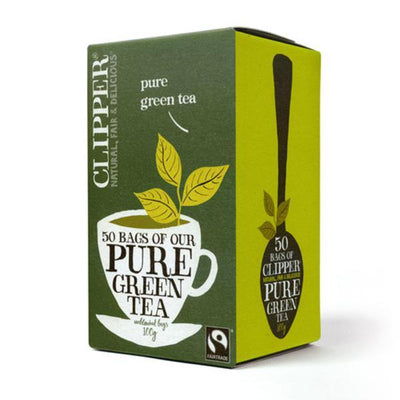 Clipper Pure Green Tea - Fairtrade 50 Bags