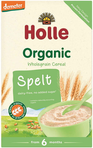 Holle Organic Baby Porridges - Spelt Porridge - Single Carton, 250g