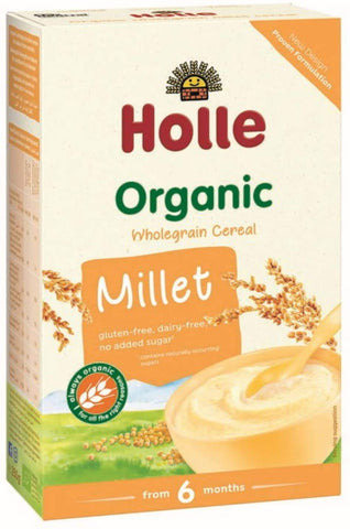 Holle Organic Baby Porridges - Millet Porridge - Single Carton, 250g