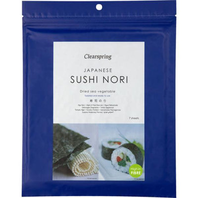 Clearspring Nori - Sushi Toasted - 7 Sheets 17g