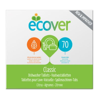 Ecover Dishwasher Tabs XL 70 Tabs