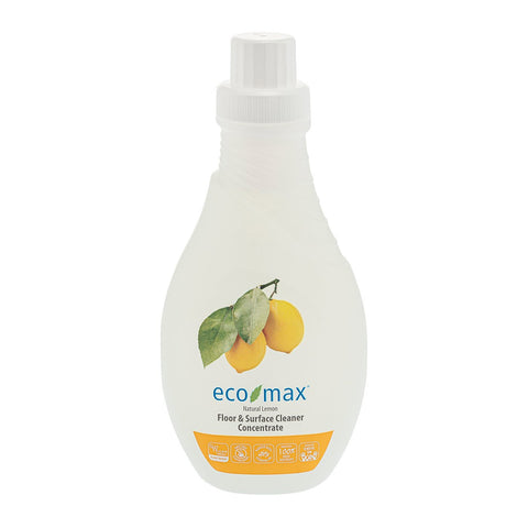 Eco-Max Floor & Surface Cleaner Concentrate - Lemon 1Ltr