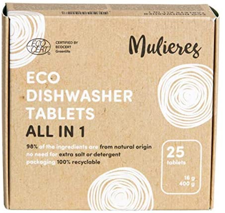 Mulieres All in 1 Eco Dishwasher 25 Tablets