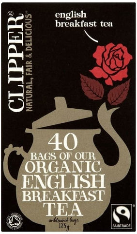 Clipper Organic & Fair Trade English Breakfast 40 Tea Bags