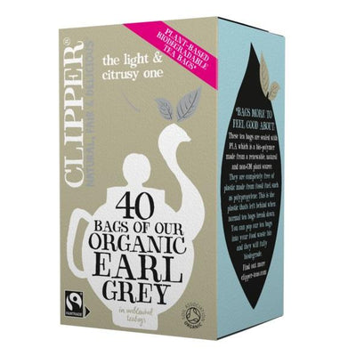 Clipper Organic & Fair Trade Earl Grey 40 Tea Bags