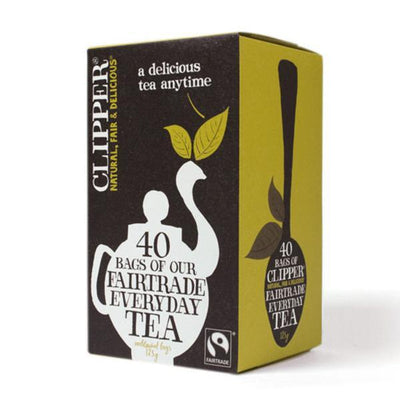 Clipper Fairtrade Blend 40 Bags