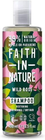 Faith In Nature Wild Rose Shampoo 400ml
