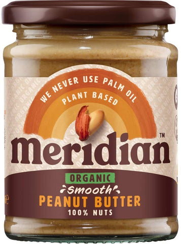 Meridian Organic Peanut Butter - Smooth 470g