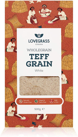 Lovegrass Ethiop White Teff Grain 500g