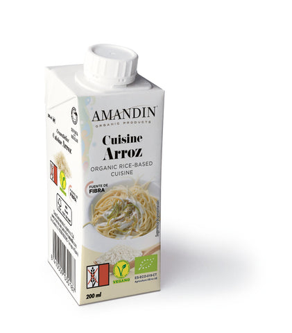 Amandin Organic Rice Based Cuisine Cooking Sauce 200ml