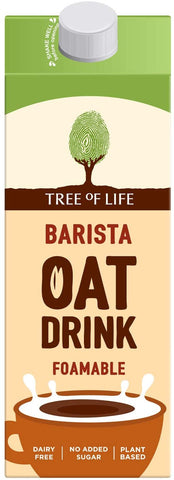 Tree Of Life Barista Oat Drink 1L (Pack of 6)