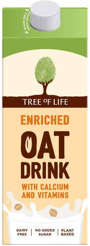 Tree Of Life Enriched Oat Drink 1L