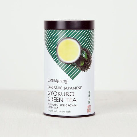 Clearspring Organic Japanese Gyokuro Green Tea - Loose 85g
