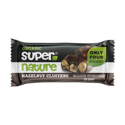 Supernature Hazelnut Clusters 34g (Pack of 12)