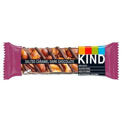Kind Bars Salted Caramel & Dark Chocolate Bar 40g (Pack of 12)
