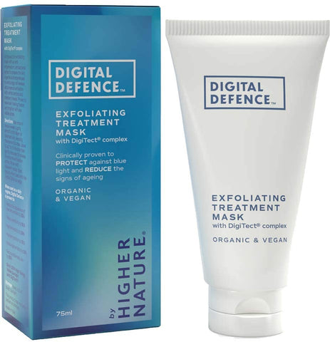 Higher Nature  Digital Defence Exfoliating Treatment Mask 75ml