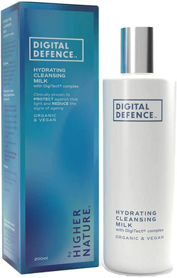 Higher Nature  Digital Defence Hydrating Cleansing Milk 200ml