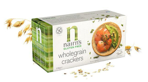 Nairns Gluten Free Whole Grain Crackers 160g