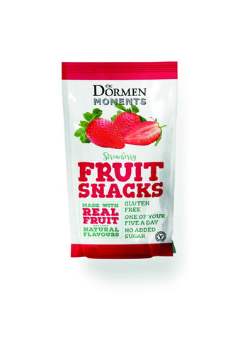 Dormens Strawberry Fruit Snack 40g (Pack of 18)