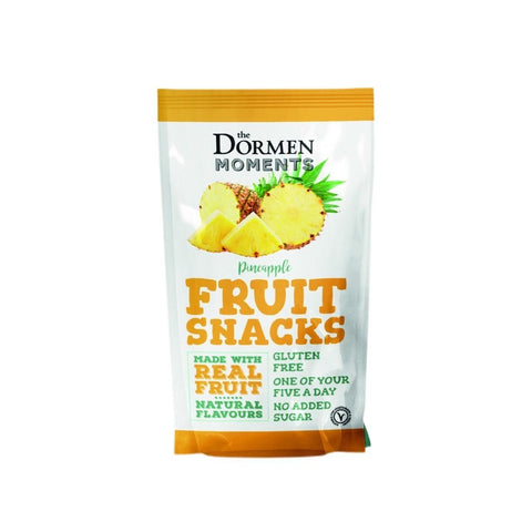 Dormens Pineapple Fruit Snack 40g (Pack of 18)