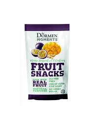 Dormens Mango Passion Fruit & Cashew Fruit Snack 40g (Pack of 18)