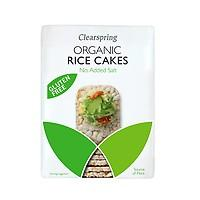 Clearspring Organic No Added Salt Brown Rice Cakes 120g (Pack of 6)