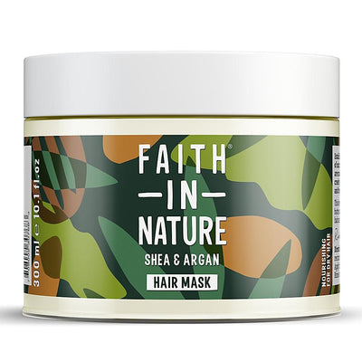 Faith In Nature Shea & Argan Nourishing Hair Mask 300ml