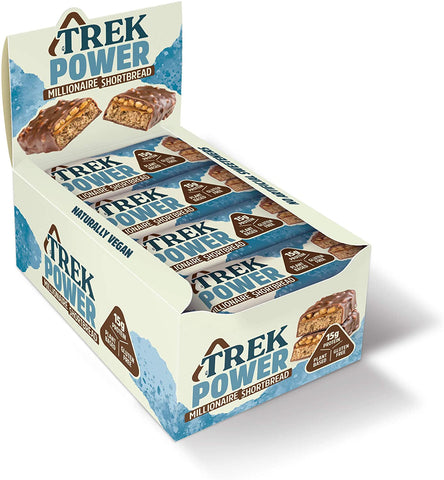 Trek Power Millionaire Shortbread 55g (Pack of 16)