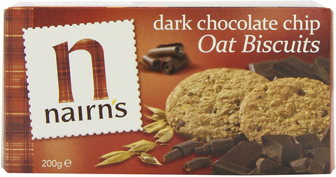 Nairns Dark Chocolate & Orange Oat Biscuits 200g