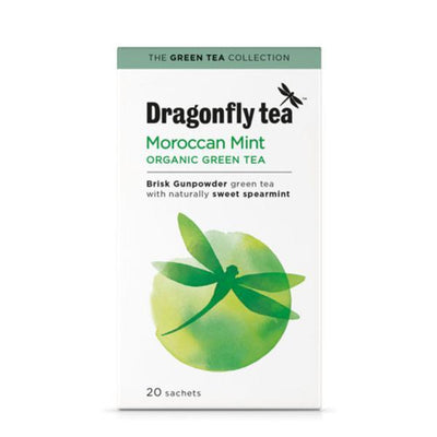 Dragonfly Moroccan Mint Tea 20 Bags (Pack of 4)