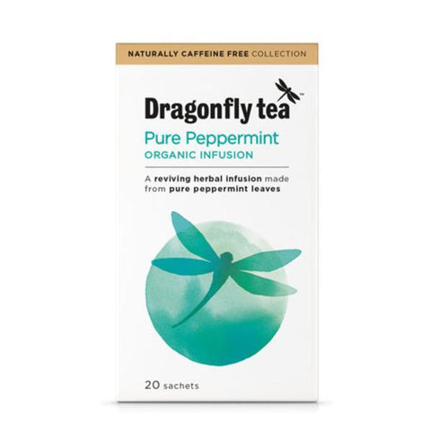 Dragonfly Peppermint Tea 20 Bags x 4 [Misc.]