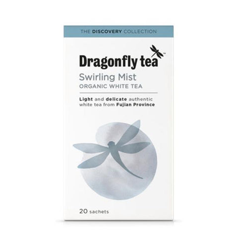 Dragonfly Swirling White Mist Tea 20 Bags (Pack of 4)