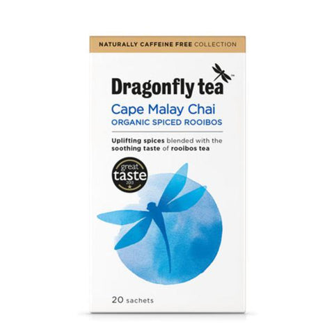 Dragonfly Cape Malay Tea 20 Bags (Pack of 4)
