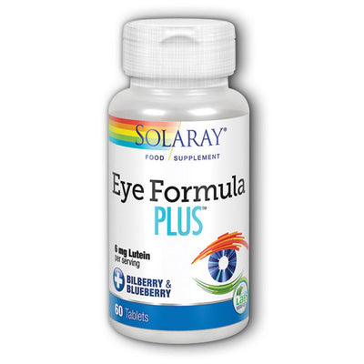 Solaray Eye Formula Plus 60vcaps