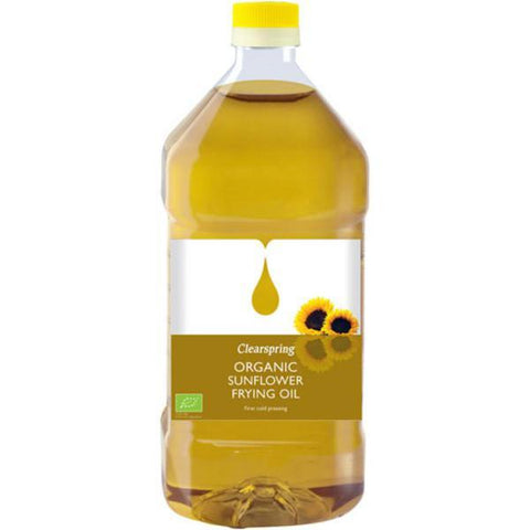 Clearspring Sunflower Frying Oil - Organic 2Ltr