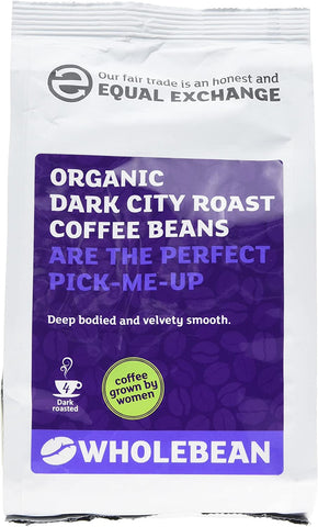 Equal Exchange Dark City Roast Coffee Beans 227g