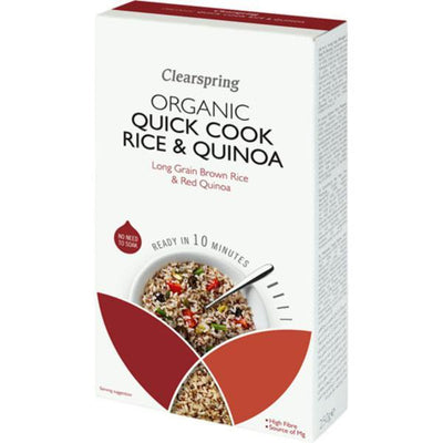 Clearspring Quick Cook Organic - Rice & Quinoa 250g