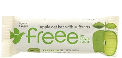 Doves Farm Free Apple & Sultana Flapjack 35g (Pack of 18)