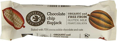 Doves Farm Free Chocolate Chip Flapjack 35g (Pack of 18)