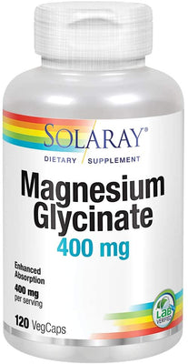 Solaray Magnesium Glycinate 120 VegiCaps