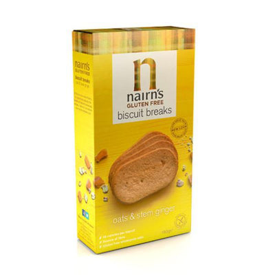 Nairns Nairns Stem Ginger Biscuit Breaks - Gluten Free 179g