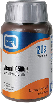 Quest Vitamin C 500mg Quick Release 120 Tablets