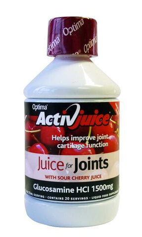 Activjuice Cherry Glucosamine Cordial 500ml