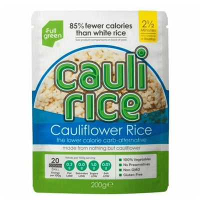 Fullgreen Cauli Rice Riced Cauliflower Original 200g (Pack of 6)