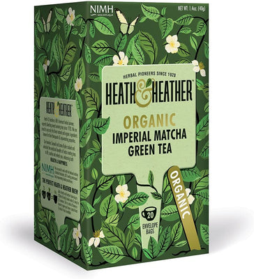 Heath & Heather Organic Imperial Matcha Tea 20 Bags