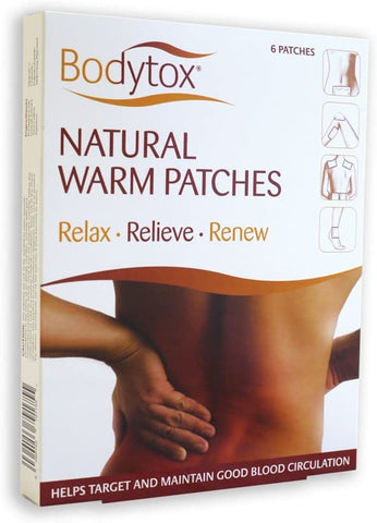 Bodytox Natural Warm Patches 6patch