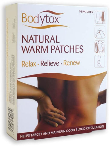 Bodytox Natural Warm Patches 14patch