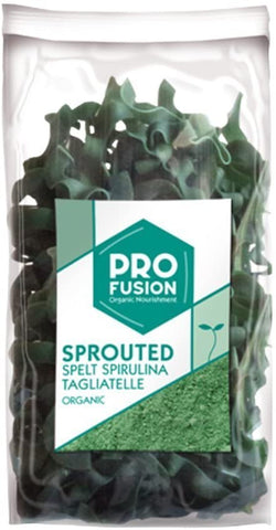 Profusion Organic Sprouted Spelt Spirulina Tagliatelle 250g