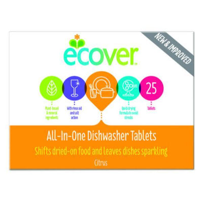Ecover Dishwasher All in One 25 Tabs